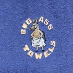 Big Ass Towel Blue Millennium Cotton Towel