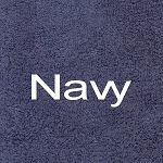 Bare Ass Towel Navy Millennium Cotton Towel